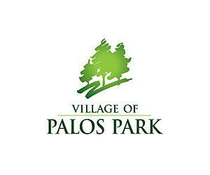 VILLAGE OF PALOS PARK VFW MEMORIAL AND BLUE STAR MARKER
