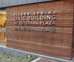Silver Spring Civic Building at Veterans Plaza logo