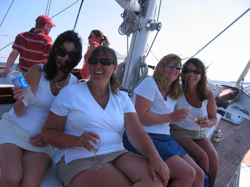 Annapolis Sailing Cruises: Schooner Woodwind