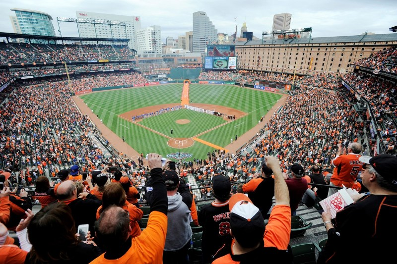 Opening Day at Camden Yards!
