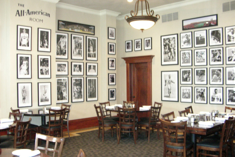 All-American Room - private dining area