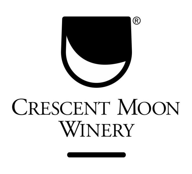 logo crescent moon winery