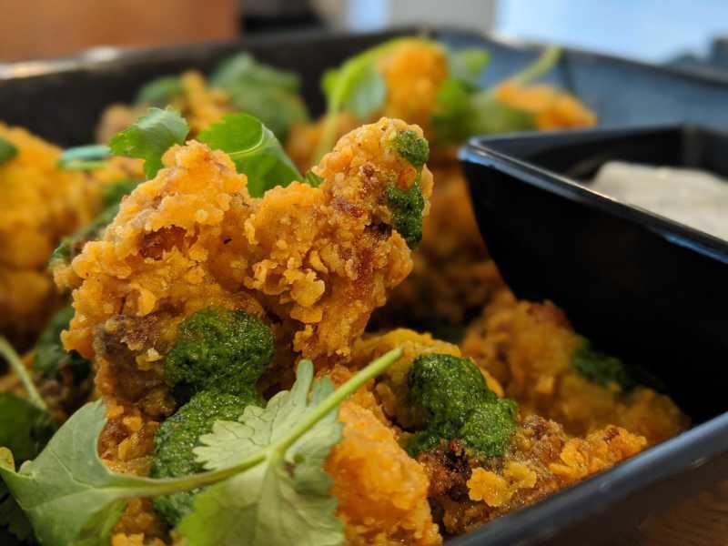 Curry Fried Cauliflower