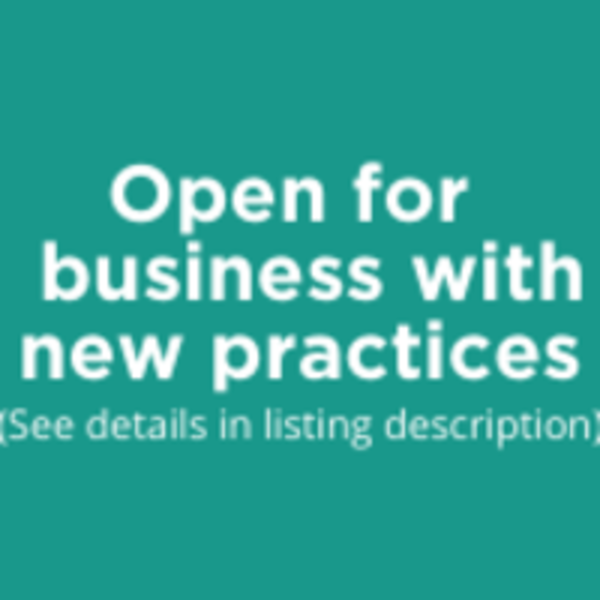 Open for business with new practices