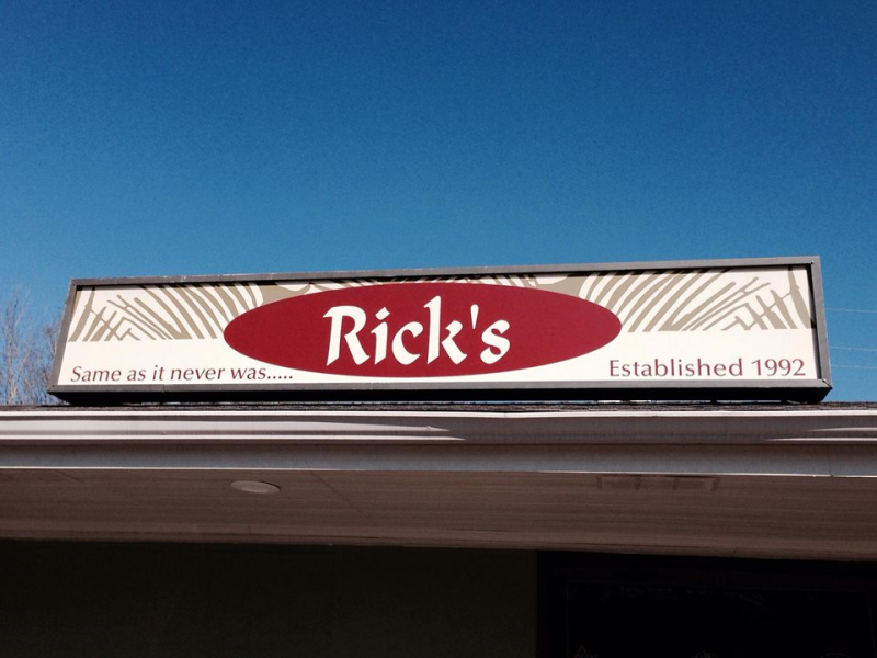 Rick's storefront