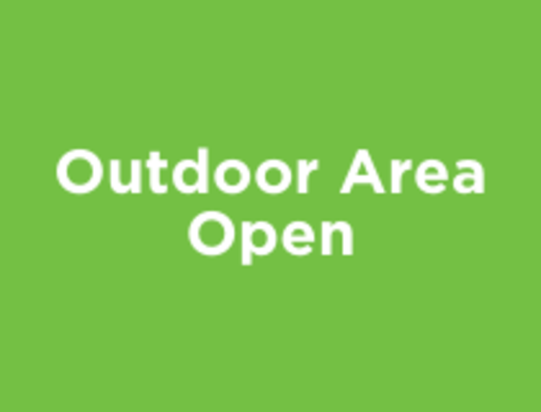 Outdoor Area Open