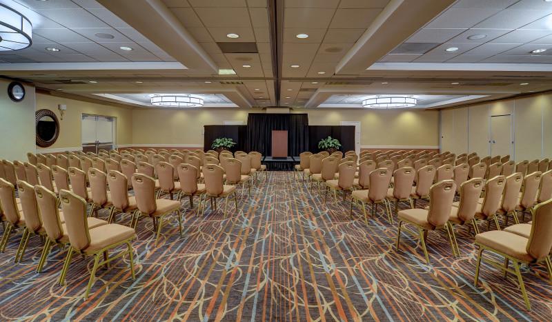 Grand Ballroom Theater Set-up