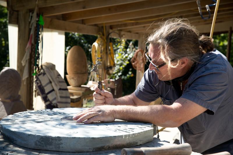 David Therriault at work