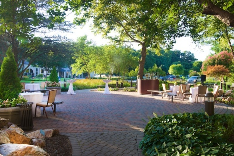 Osgood Building Outdoor Garden Reception