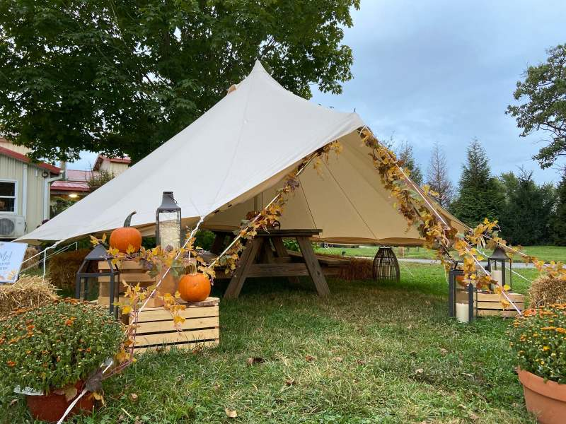 Waredaca Fall Yurt