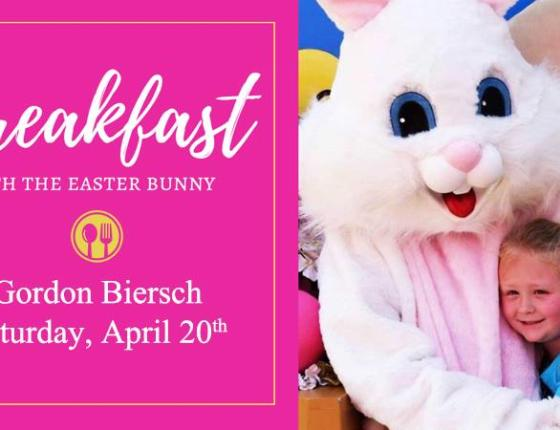 Breakfast With The Easter Bunny at Gordon Biersch