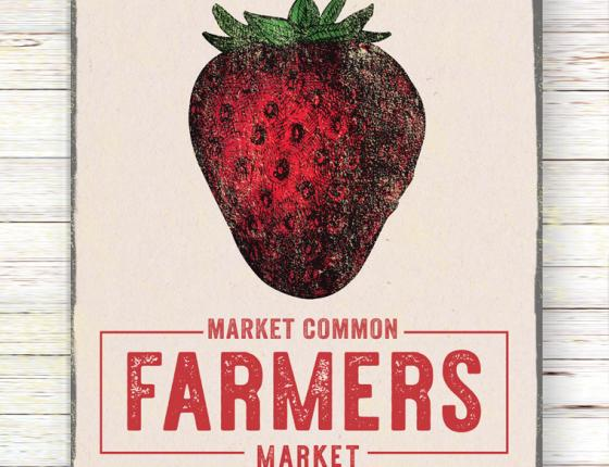 Farmers Market on Deville Street at The Market Common