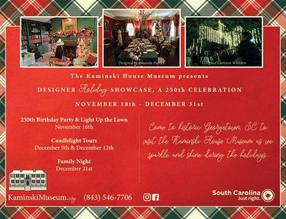 Designer Holiday Showcase, A 250th Celebration!