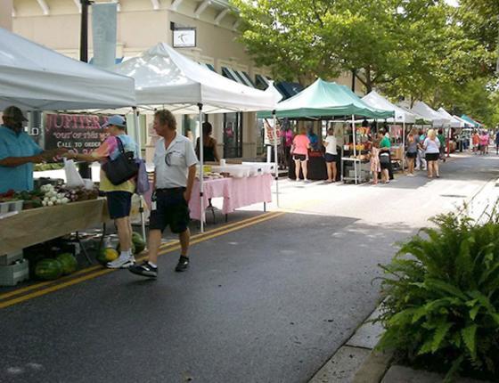 Farmer's Market on Deville Street