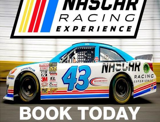 NASCAR Racing Experience PACE CAR RIDES