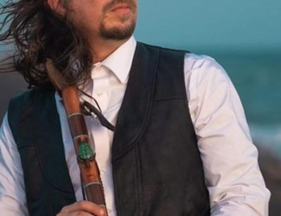 Snow Wolf to perform the Native American Flute at the Horry County Museum