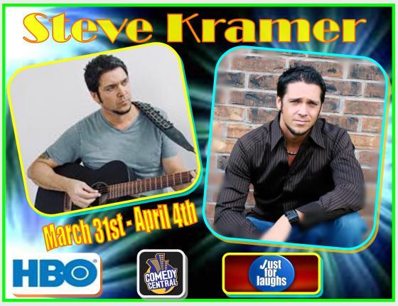 Headlining Steve Kramer
