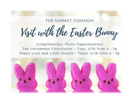 Visit With The Easter Bunny (Complimentary Photo Opportunity)
