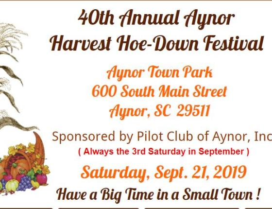 40th Annual Aynor Harvest Hoe-Down Festival