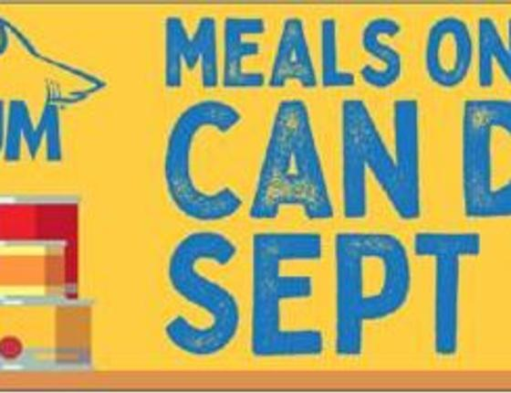 Meals on Wheels Can Food Drive at Ripley's Aquarium of Myrtle Beach