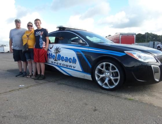 NASCAR Racing Experience PACE CAR RIDES