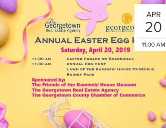 Annual Easter Egg Hunt at Kaminski House Museum