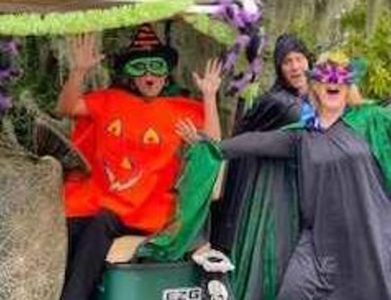 1st Annual Halloween Golf Cart Parade