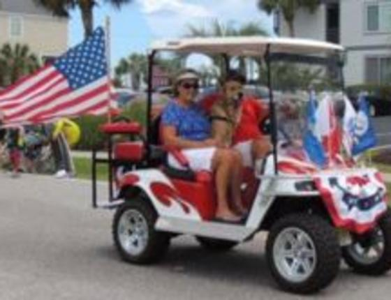 Surfside Beach Memorial Day Golf Cart Parade