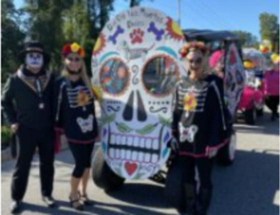 2021 Halloween Golf Cart Parade