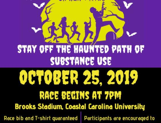 Haunted Hustle 5K Run - 1 Mile