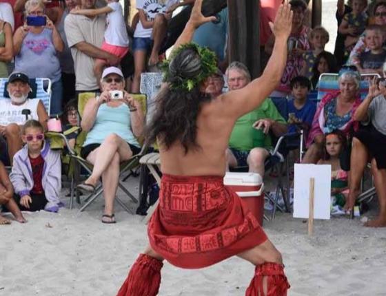 Surfside Beach Hula Shows