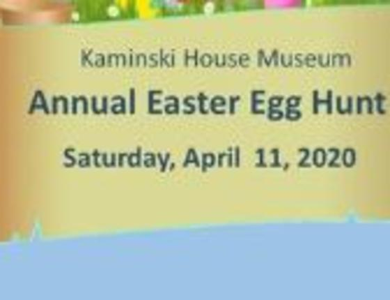Annual Easter Egg Hunt at Kaminski House Museum