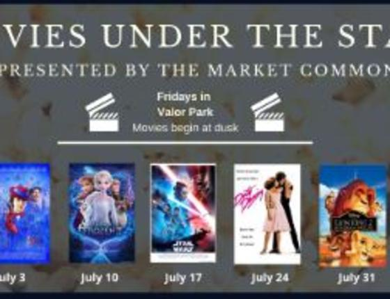 Complimentary Movies Under The Stars In Valor Park