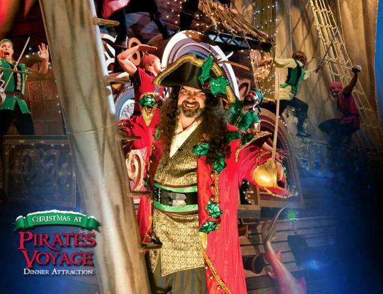 Christmas at Pirates Voyage