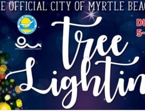 Myrtle Beach Tree Lighting Ceremony