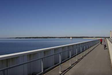 Dreher Shoals Dam Walk