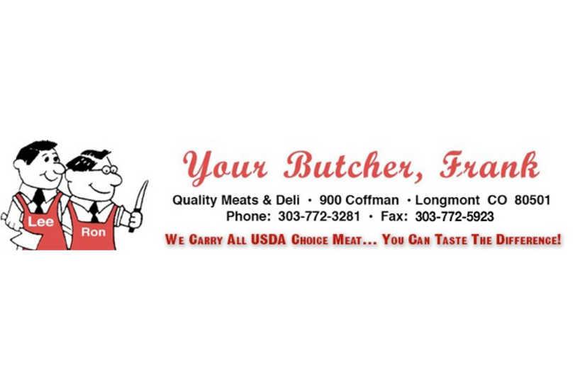 Your Butcher Frank logo
