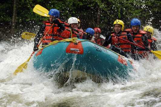 Whitewater Rafting and Tubing | New York Tourism