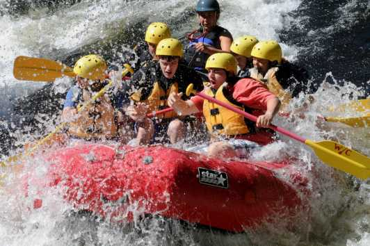 Whitewater Rafting and Tubing   New York Tourism