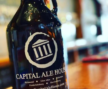 Cap Ale Growler