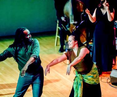 Amalia and evening of Fado and Dance