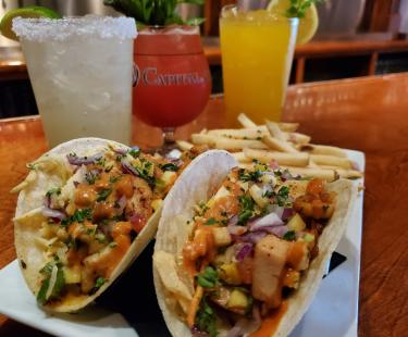 Cap Ale Tacos and specialty cocktails