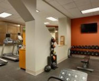 Hilton  Richmond Downtown Hotel Fitness Center