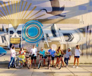 Group at Mural