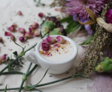 Our Rose Latte