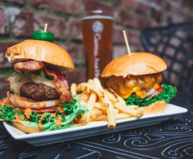 Cap Ale Burgers