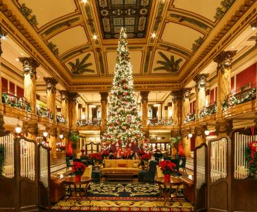 Holiday Tree at The Jefferson Hotel