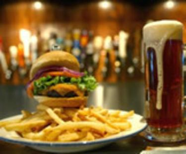 Cap Ale Burger
