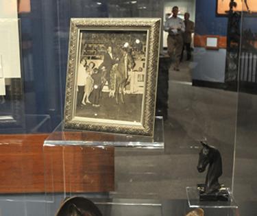 Case at Saddlebred Museum