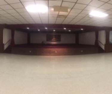 Ballroom and Stage